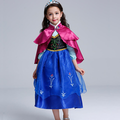 b051ddb468a34 アナドレスワンピース衣装キッズ子供用のおすすめ楽天通販はこちら!